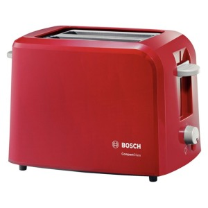 Bosch Broodrooster CompactClass Compact TAT3A014 - Rood