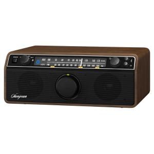 Sangean WR12 BT - Radio met bluetooth - Walnoot
