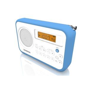 PR-D18 Portable Radio Blauw
