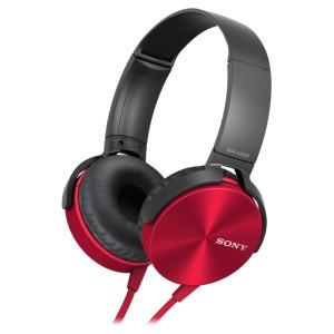 Sony MDR-XB450AP Rood