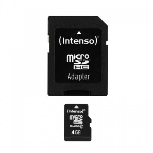 Intenso MICRO SD CARD 4GB CL10 INTENSO (3413450)