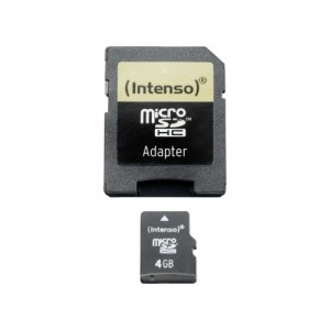 Intenso Secure Digital Card SDHC 4096MB (3403450)