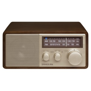 Sangean WR-11 BT - Tafel radio met bluetooth - Walnoot
