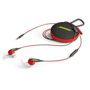 Bose SOUNDSPORT IN-EAR VOOR APPLE rood