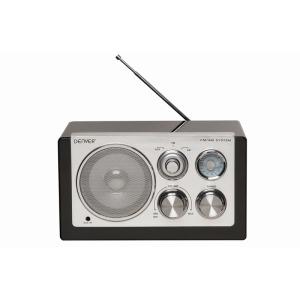 Denver Tr-61 Am-fm radio zwart