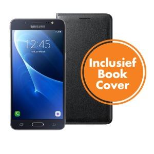 Samsung Galaxy J5 2016 (incl. Book Cover) zwart