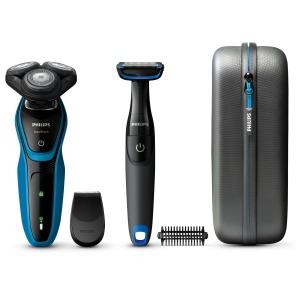 Philips S5050/64 zwart/blauw