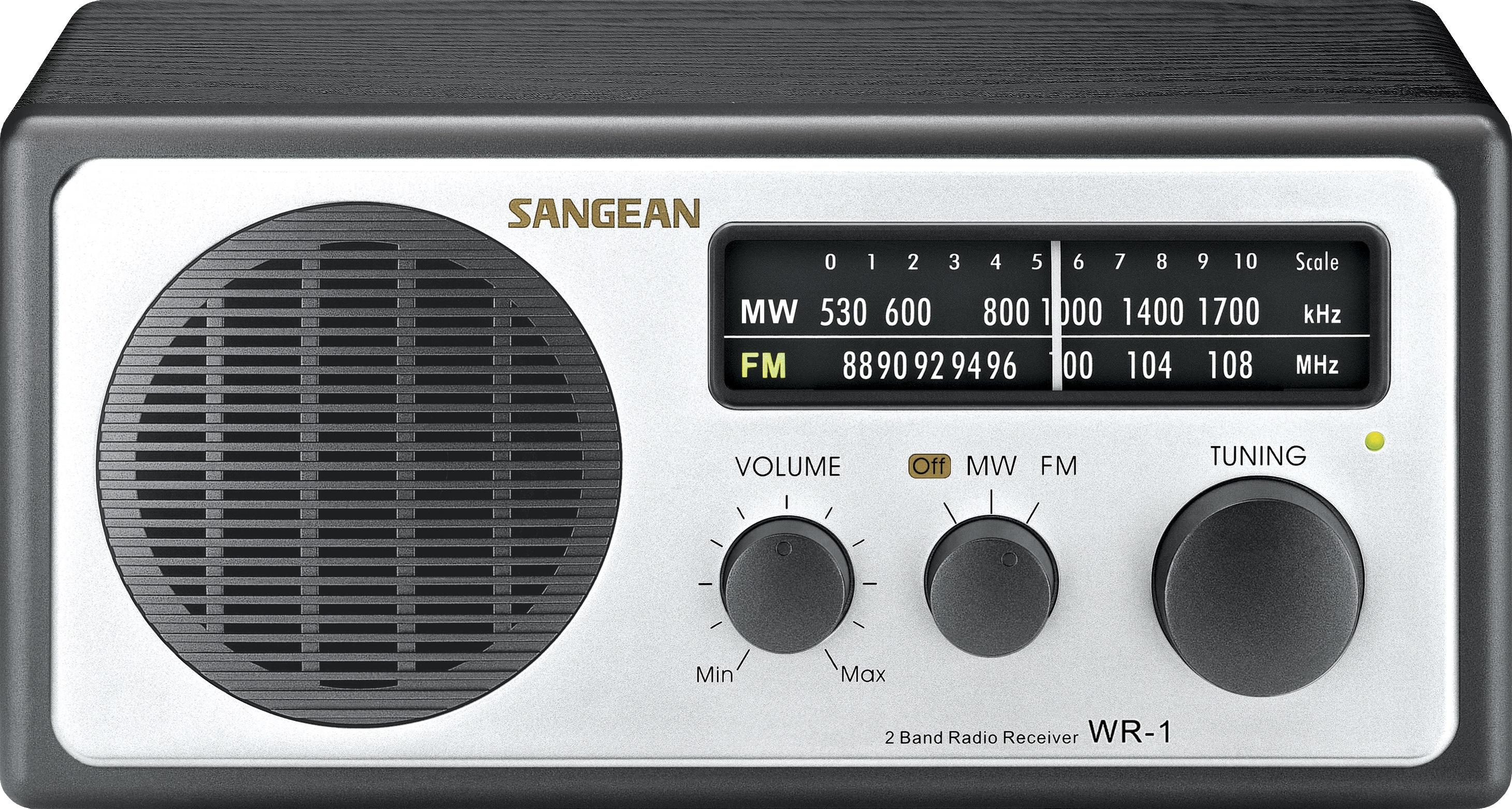SANGEAN WR-1 - zwart