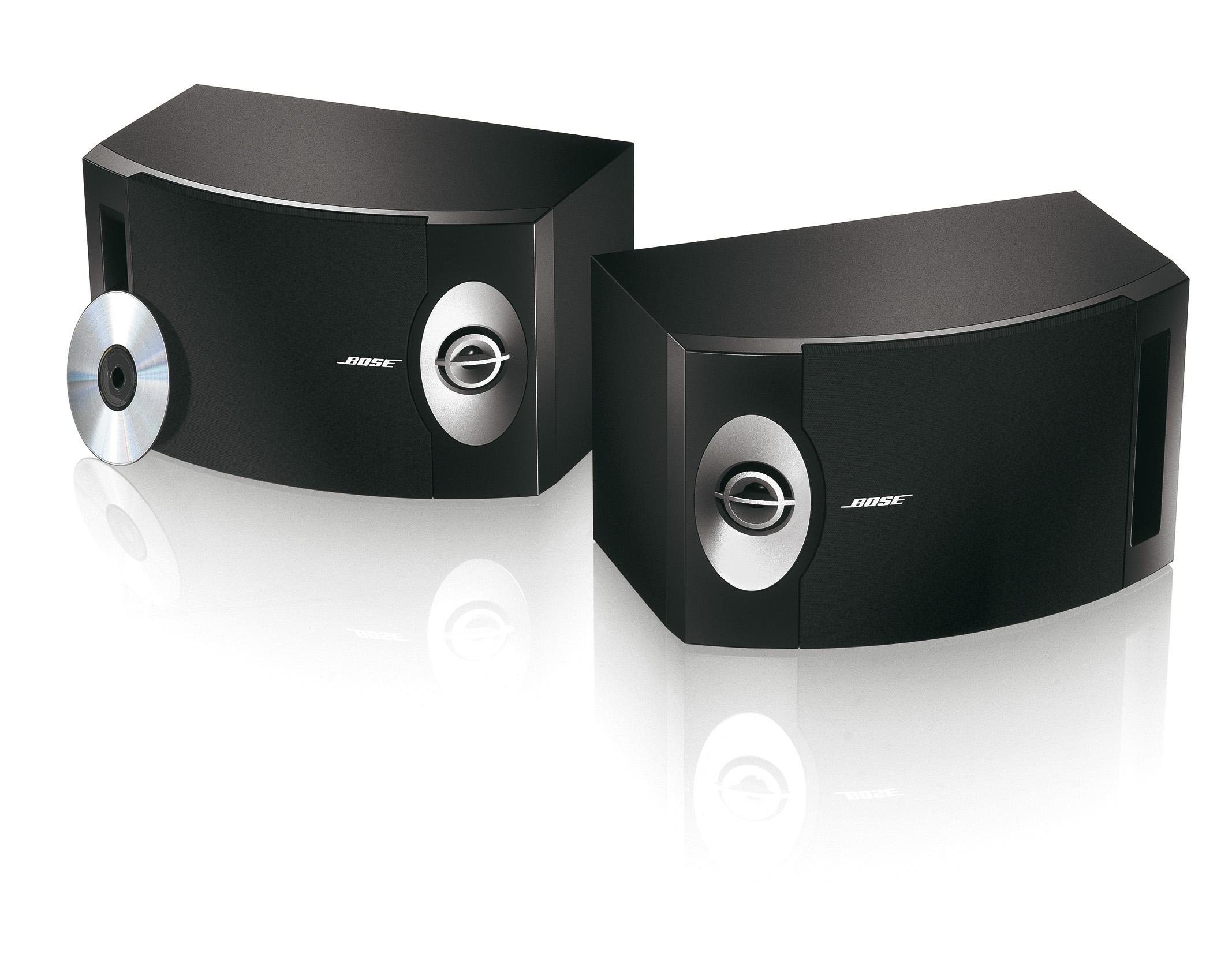 Bose 201 luidsprekers zwart