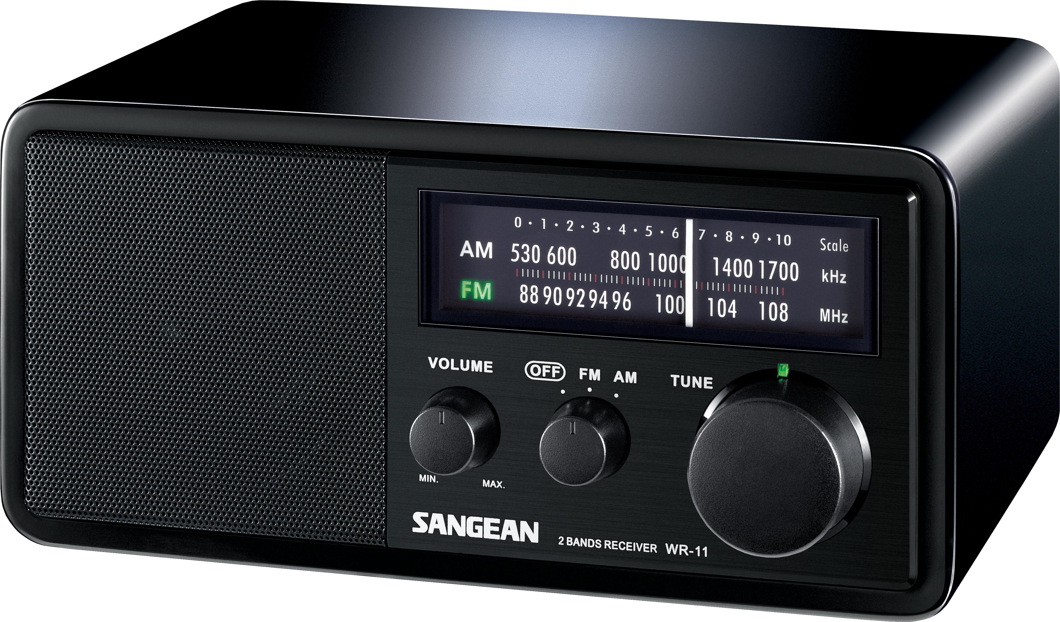 Sangean WR-11 - Tafel radio - Zwart