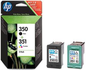 HP Inktpatronenset »HP SD412EE« HP 350 & 351