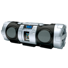 RV-NB50E Boombox met iPod Dock