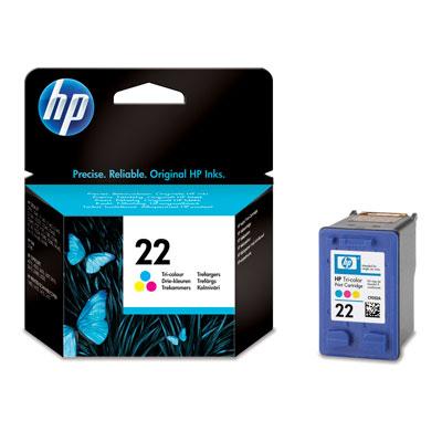 HP 22 Combo Pack 3-Kleuren (HPC9352A)