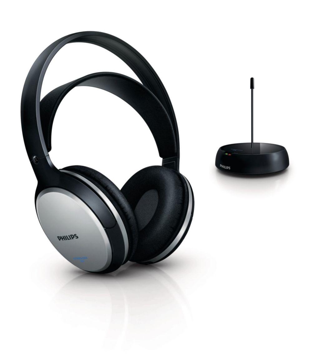 Image of Philips Draadloze HiFi-hoofdtelefoon SHC5100