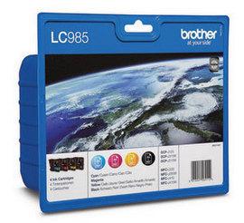 Brother LC985VALBP 4 kleuren inkt