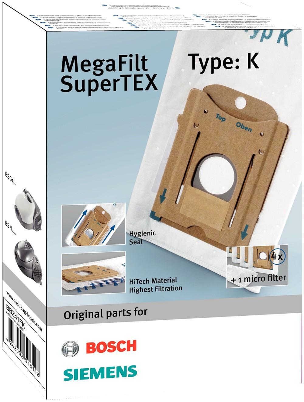 Bosch BBZ41FK Stofzuigerzakken