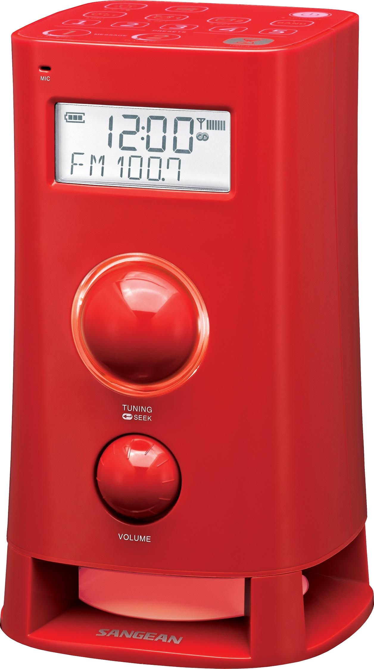 Sangean K200 - Wekkerradio - Mood - Roze