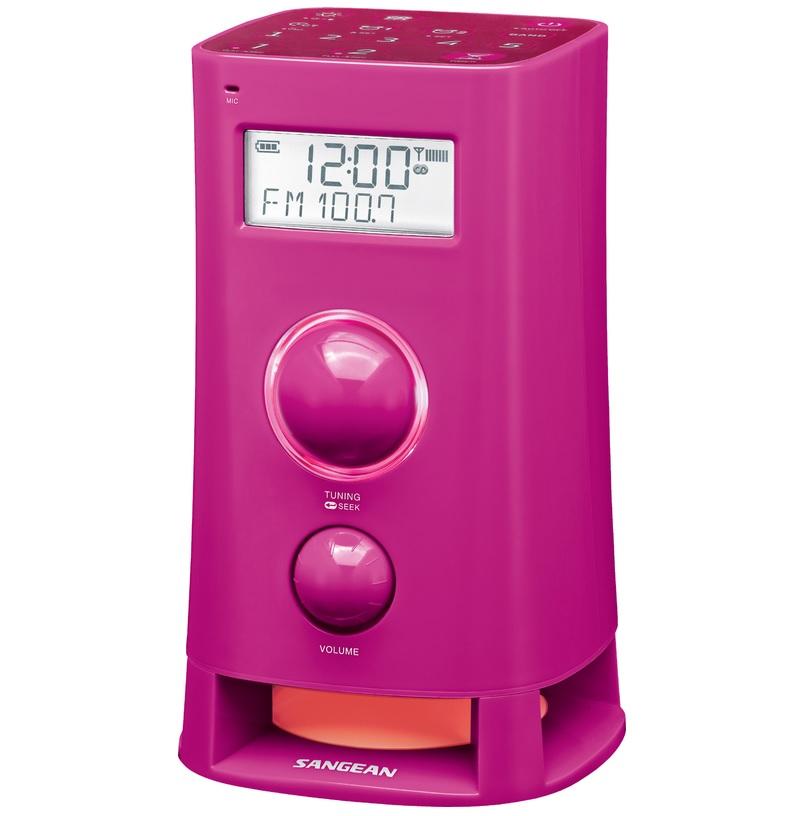 Sangean K200 - Wekkerradio - Mood - Rood