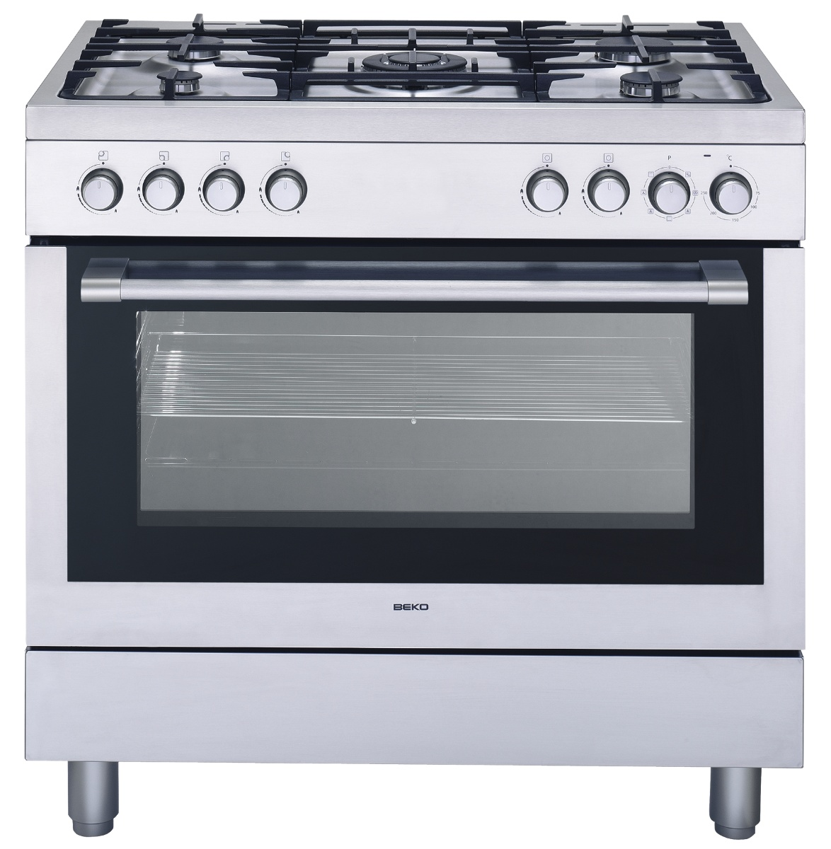 Image of Beko GM 15120 DX PR Fornuis grand-luxe B