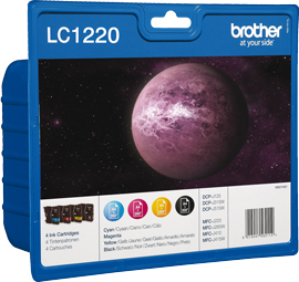 Image of Brother Ink Cartridge Lc-1220 Value Blister