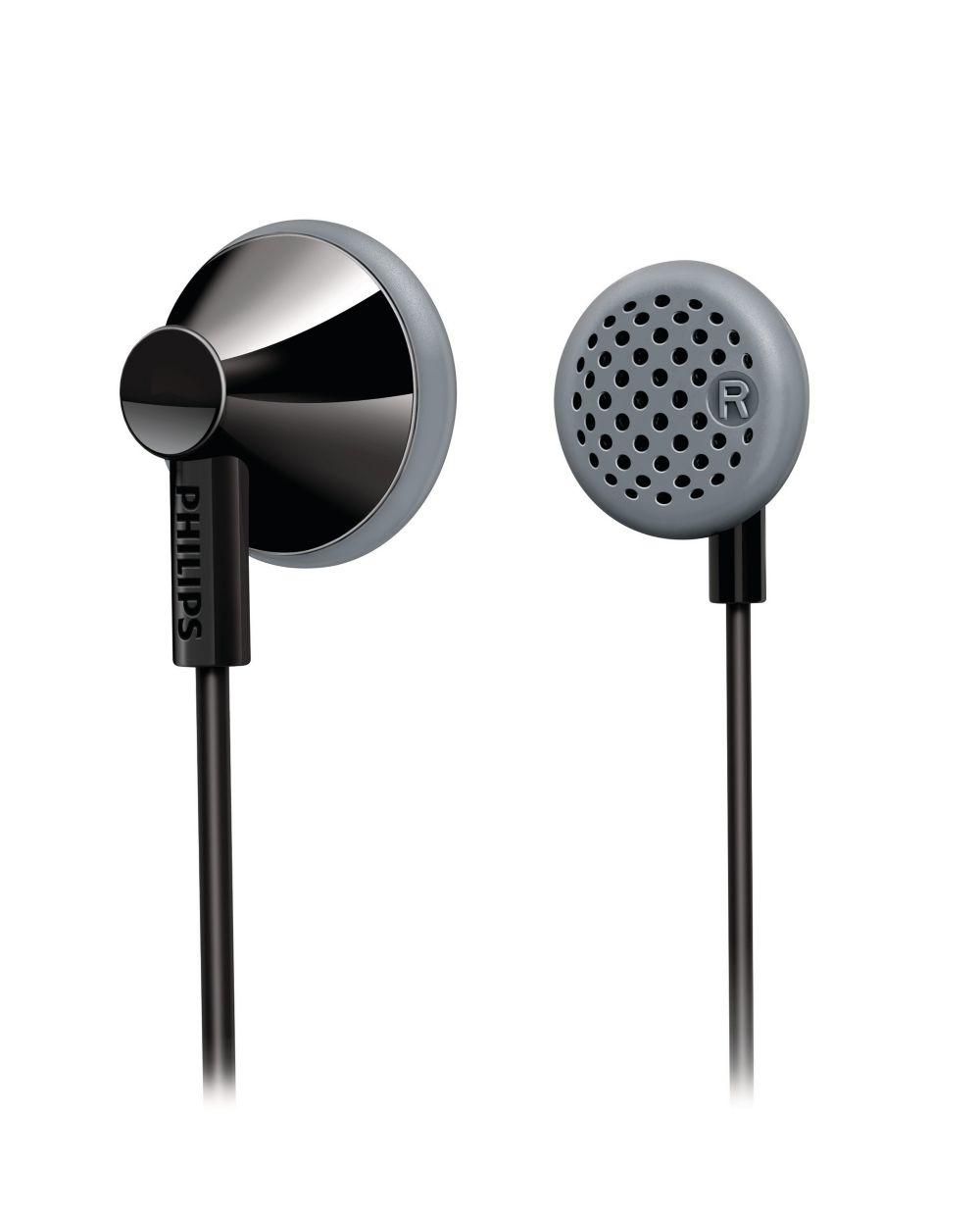 Philips SHE2000/10 oortelefoon - zwart