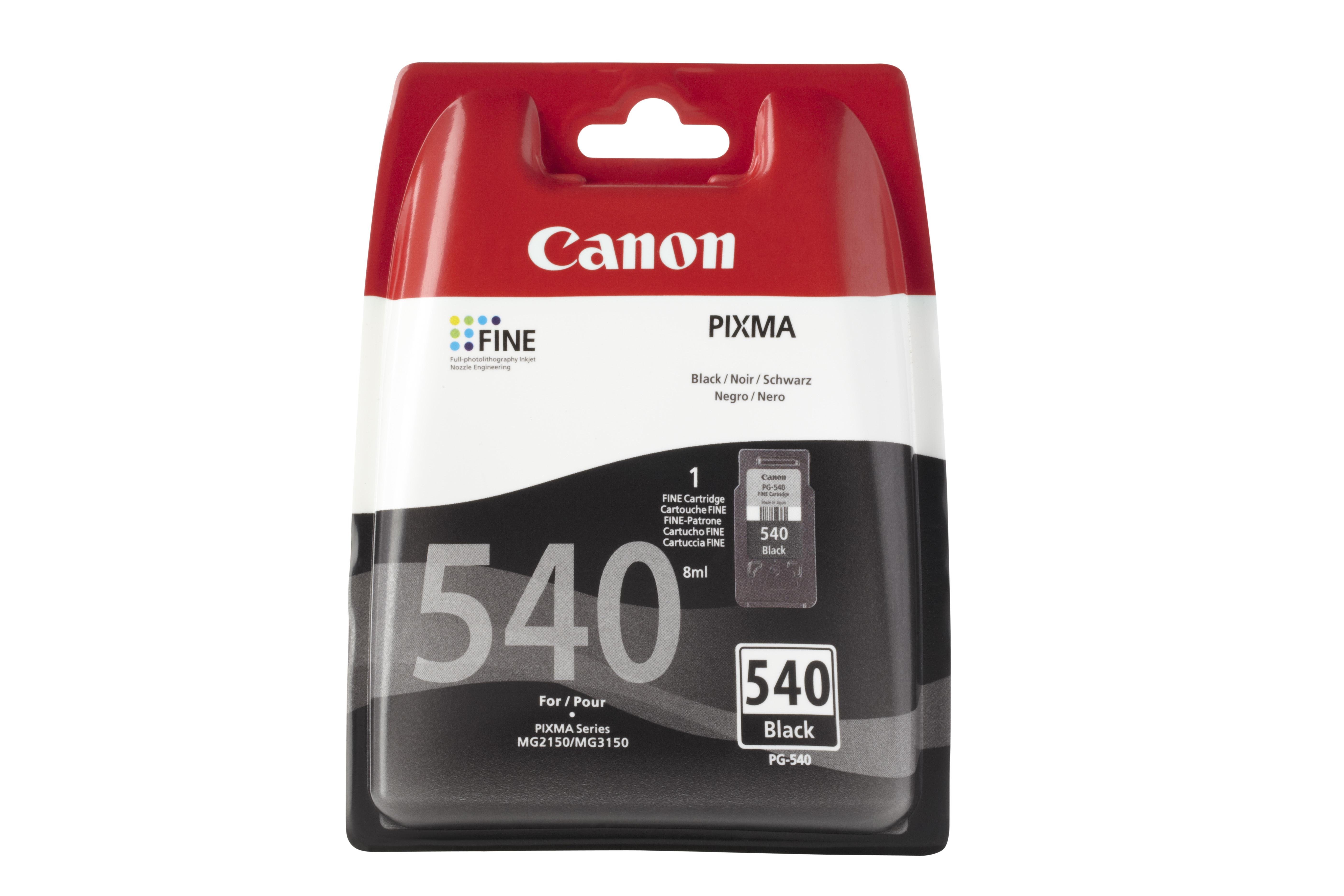 PG-540 Inktcartridge Zwart