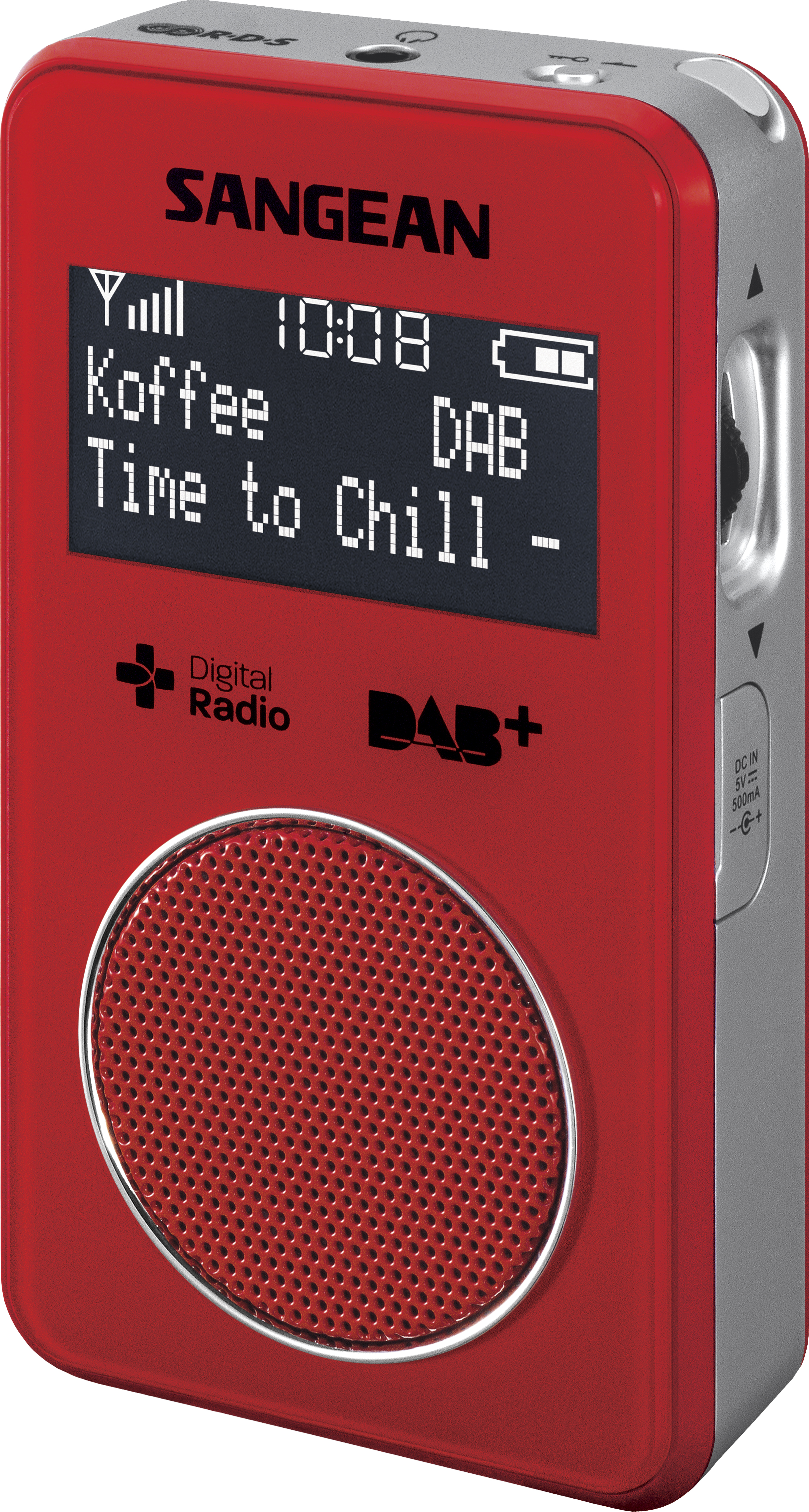 DPR-34 DAB+ Rood