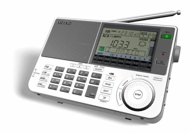 Sangean ATS-909X Zwart