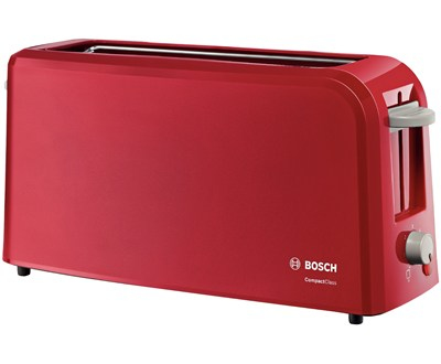 Bosch Broodrooster CompactClass Lang TAT3A004 - Rood