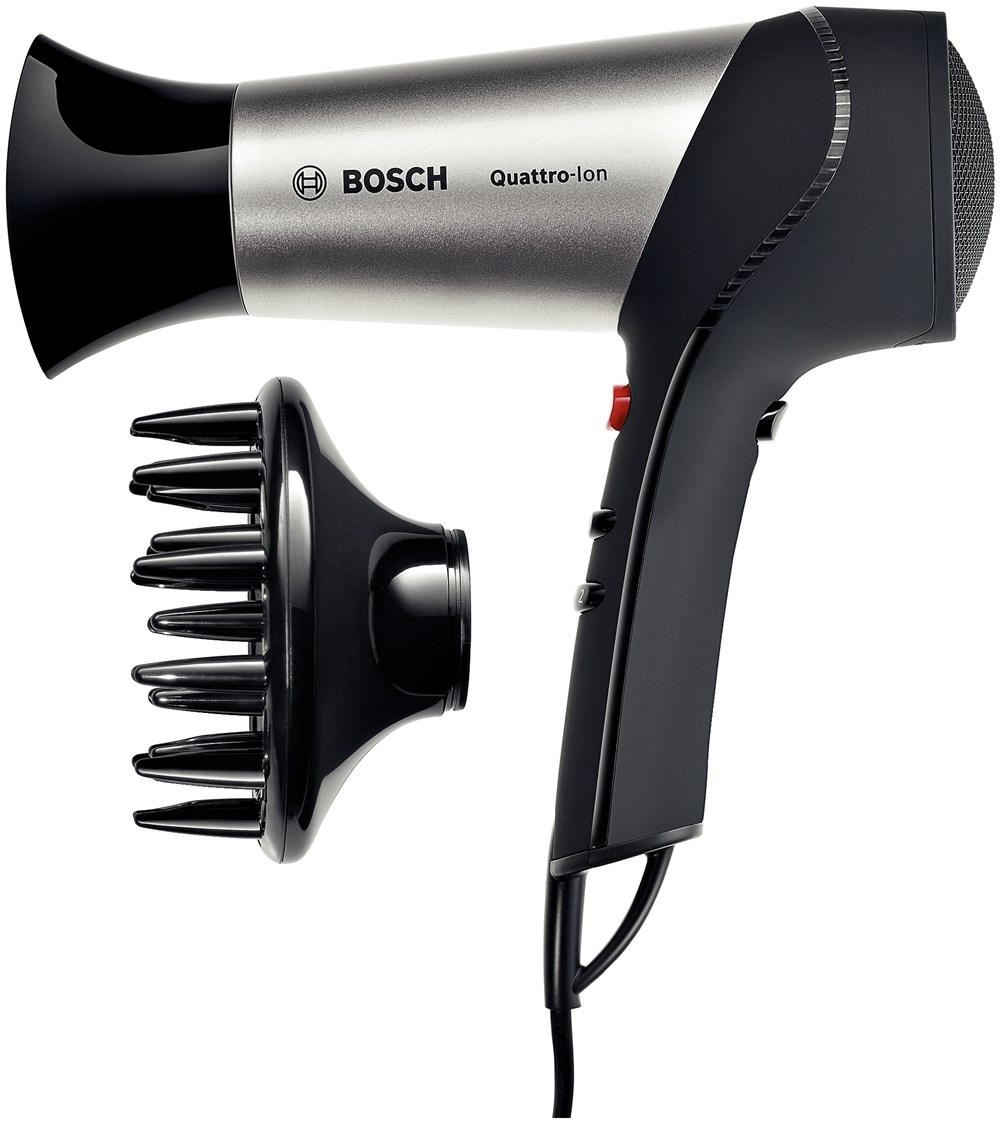 Bosch haardroger PHD5767 BrilliantCare Quattro-Ion