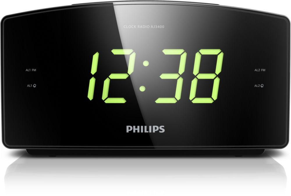 PHILIPS Wekkerradio AJ3400