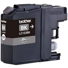 Image of Brother Ink Cartridge Lc-123Bk Black 600 Pages
