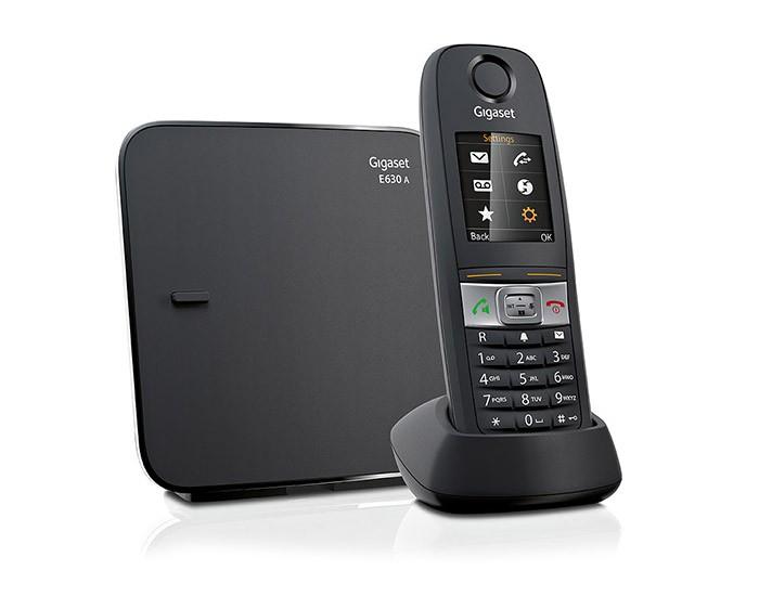 Telefoon (Dect) Gigaset E630A zwartIT en Telecom 4250366833170