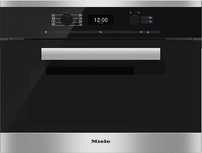 MIELE DG 6400 CLST PURELINInbouw Oven en Magnetron