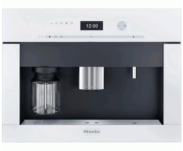 Miele inbouw koffiemachine CVA6401BRWS Briljantwit