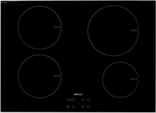 Image of Beko HII 74400 AT Kookplaat inductie 4 inductie kookzones 7