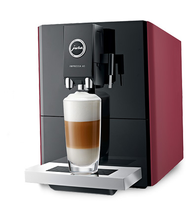 Jura Impressa A5 Volautomomaat Espressomachine - Rood