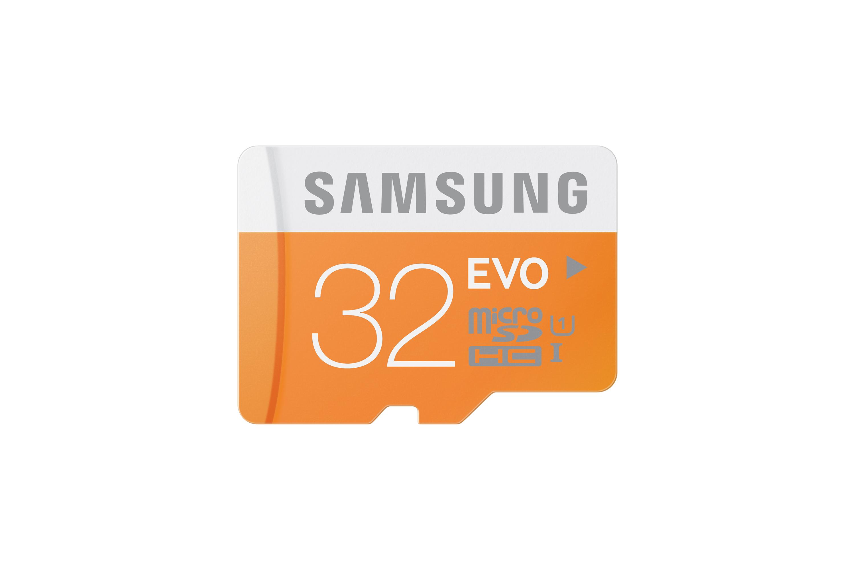 MicroSDHC EVO 32GB + Adapter