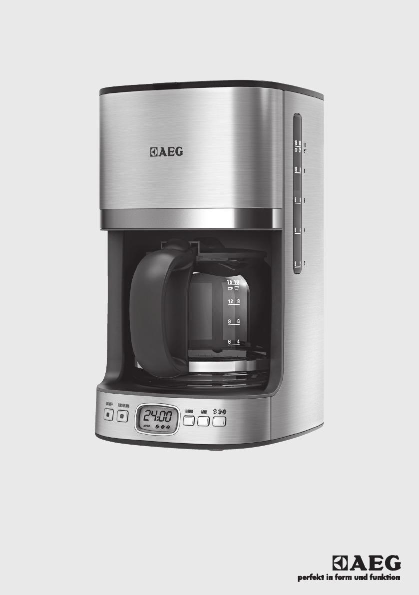 Aeg koffiezetapparaat KF 7500, zilverkleur
