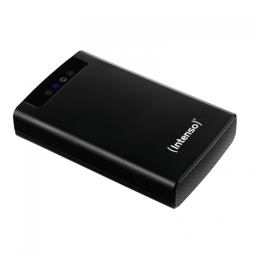 Image of Intenso Memory 2 Move 500 GB WiFi harde schijf USB 3.0, WiFi 802.11 b/g/n Zwart