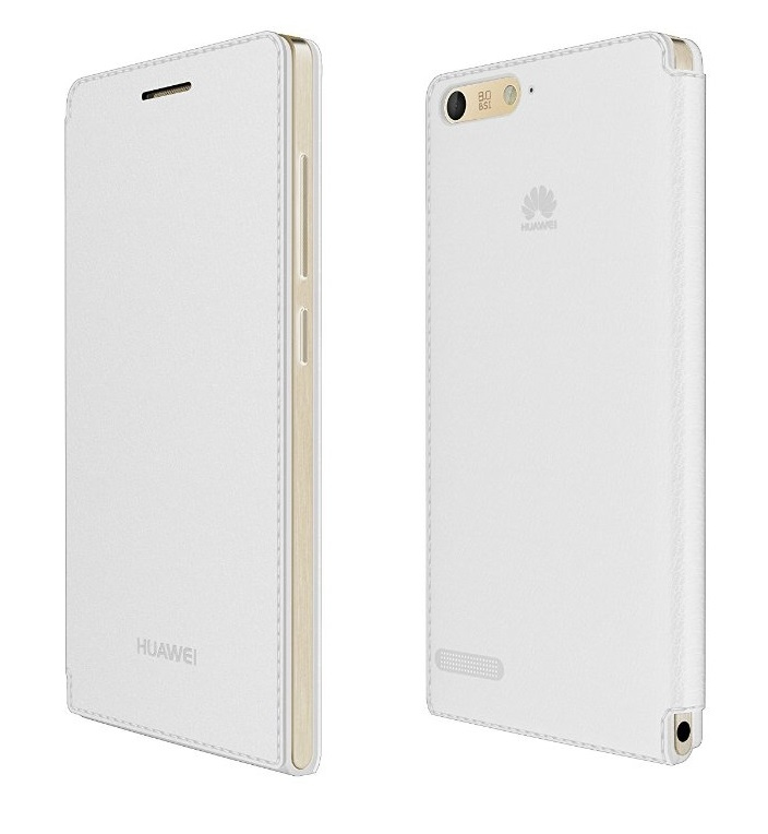 Huawei Ascend G6 4G Flip Cover White