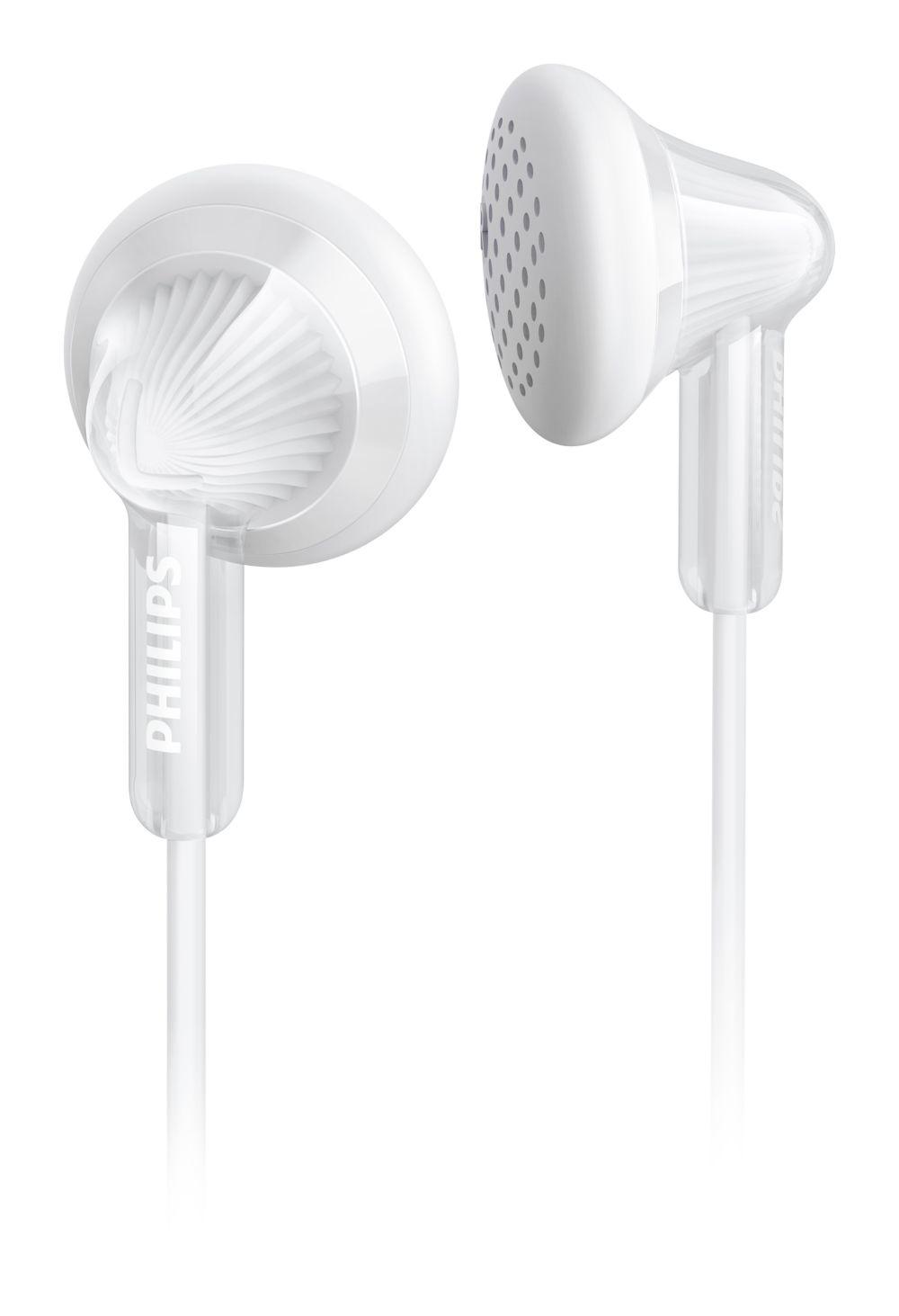 Philips SHE3010 - In-ear oordopjes - Wit