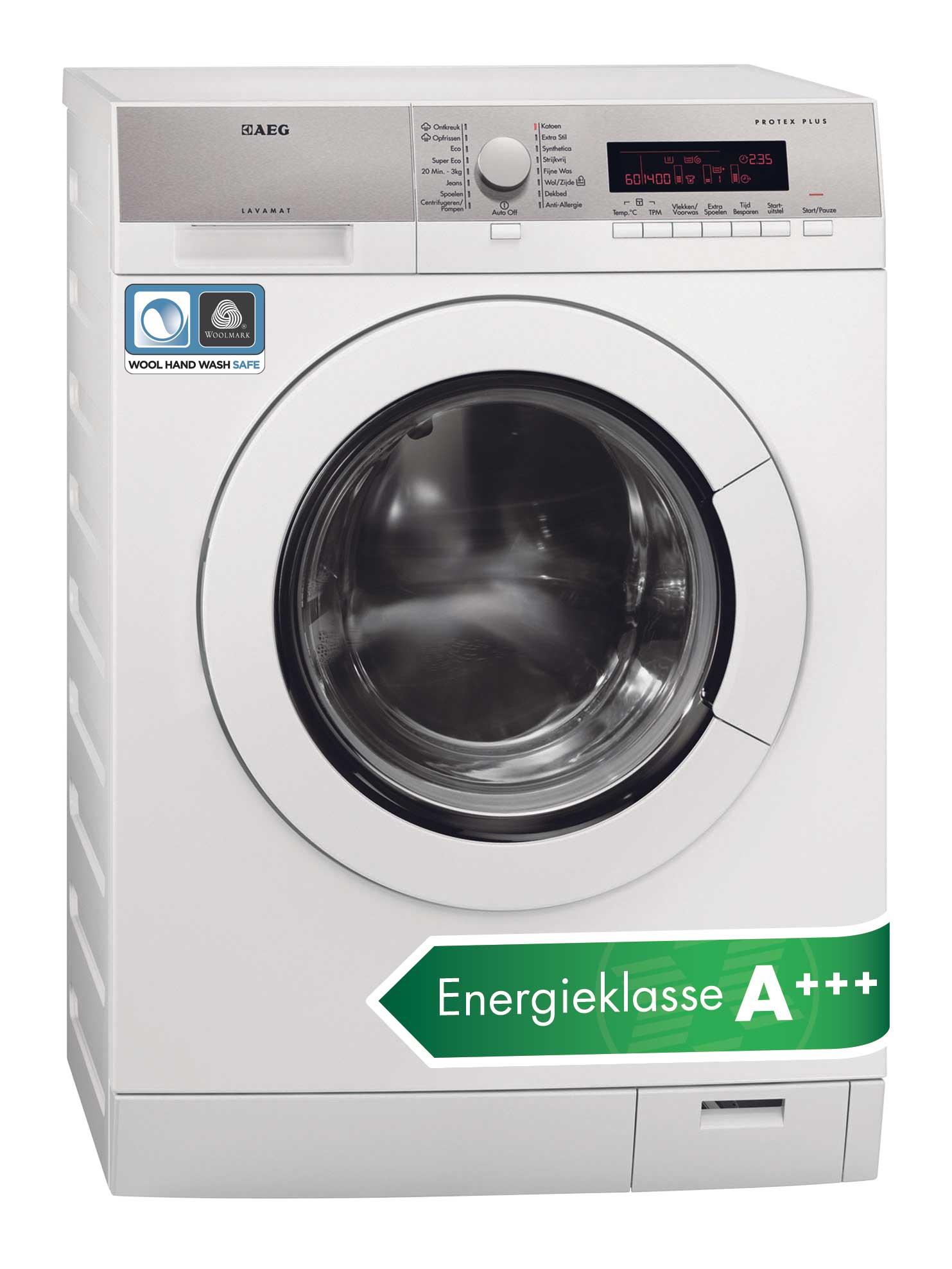 Slot aeg wasmachine