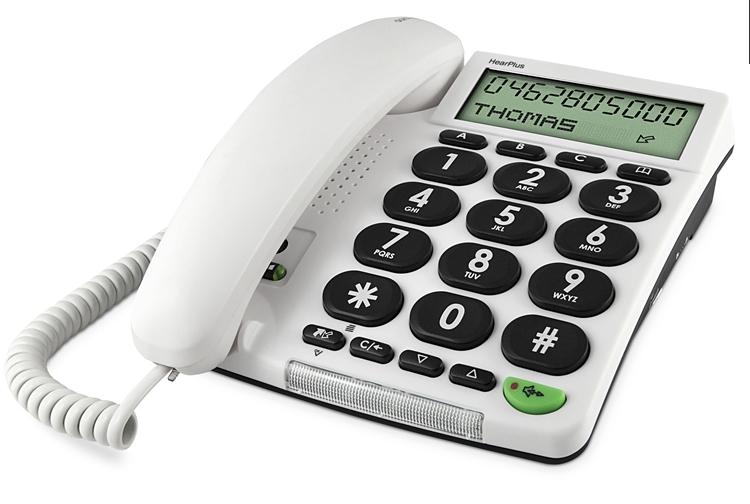 Telefoon (Dect) Doro HearPlus 313ciIT en Telecom 7322460046828