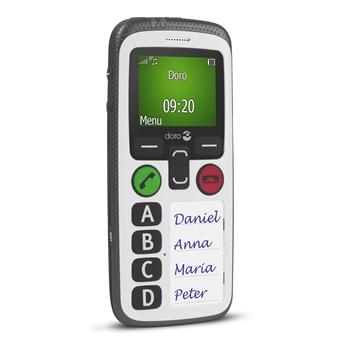 Simlockvrij Doro Secure 580 witIT en Telecom 7322460065140
