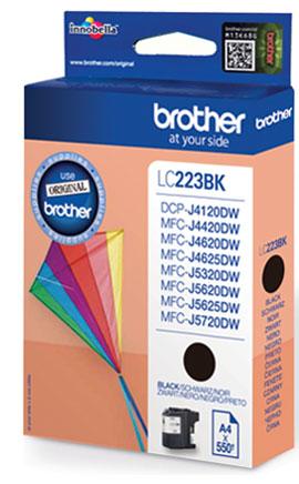 Image of Brother Inkt LC-223BK Origineel Zwart LC223BK