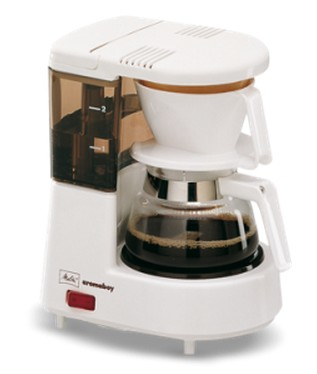Image of 1015-01 ws - Coffee maker with glass jug 1015-01 ws