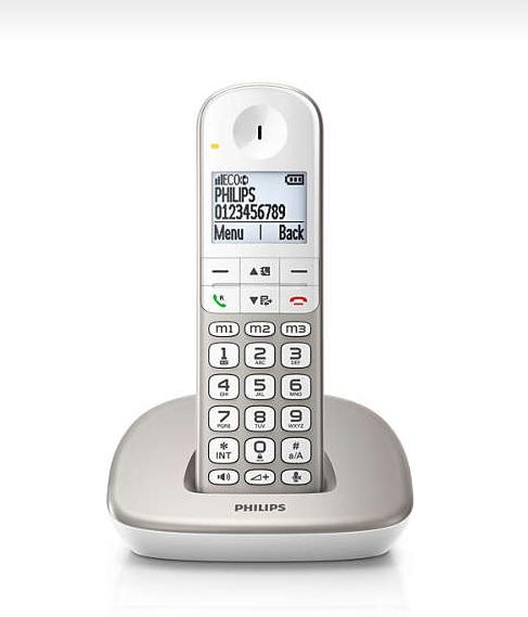 Telefoon (Dect) Philips XL4901SIT en Telecom 4895185606163