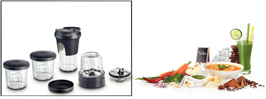 Bosch MUZ45XTM1 - 5 in 1 MULTI - Multi-Blender-Set