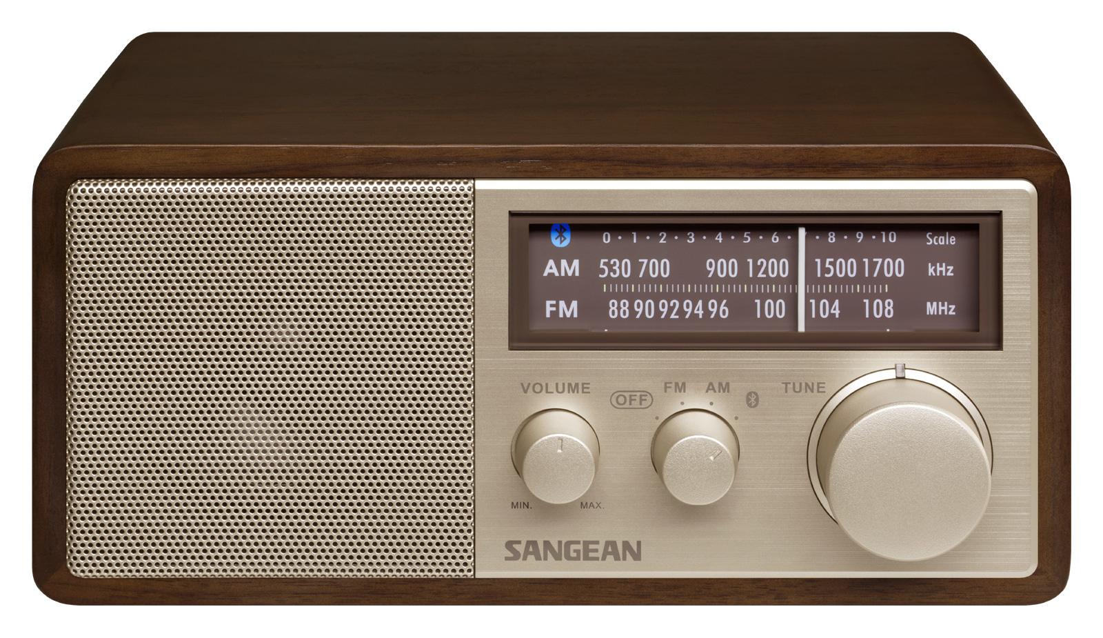 Sangean WR-11 BT - Tafel radio met bluetooth - Walnoot